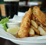 We love West Palm Beach John Bull Pub food
